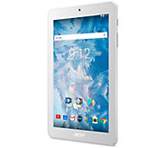 Acer Iconia One 7 Tablet - Quad-Core, 16GB Memory - E294389
