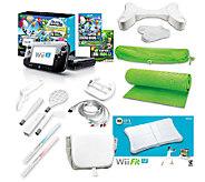 Nintendo Wii U w/ 3 Games and Accessory Bundle - E225790