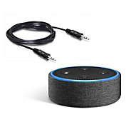 Amazon Echo Dot Fabric Cover with Audio Cable - E230290