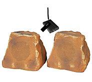 TIC 5.25 Wireless Outdoor Rock Speakers - E260790