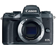 Canon EOS M5 24.2MP Mirrorless Camera Body - E290290