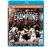 San Francisco Giants 2014 World Series Blu-ray - E290990