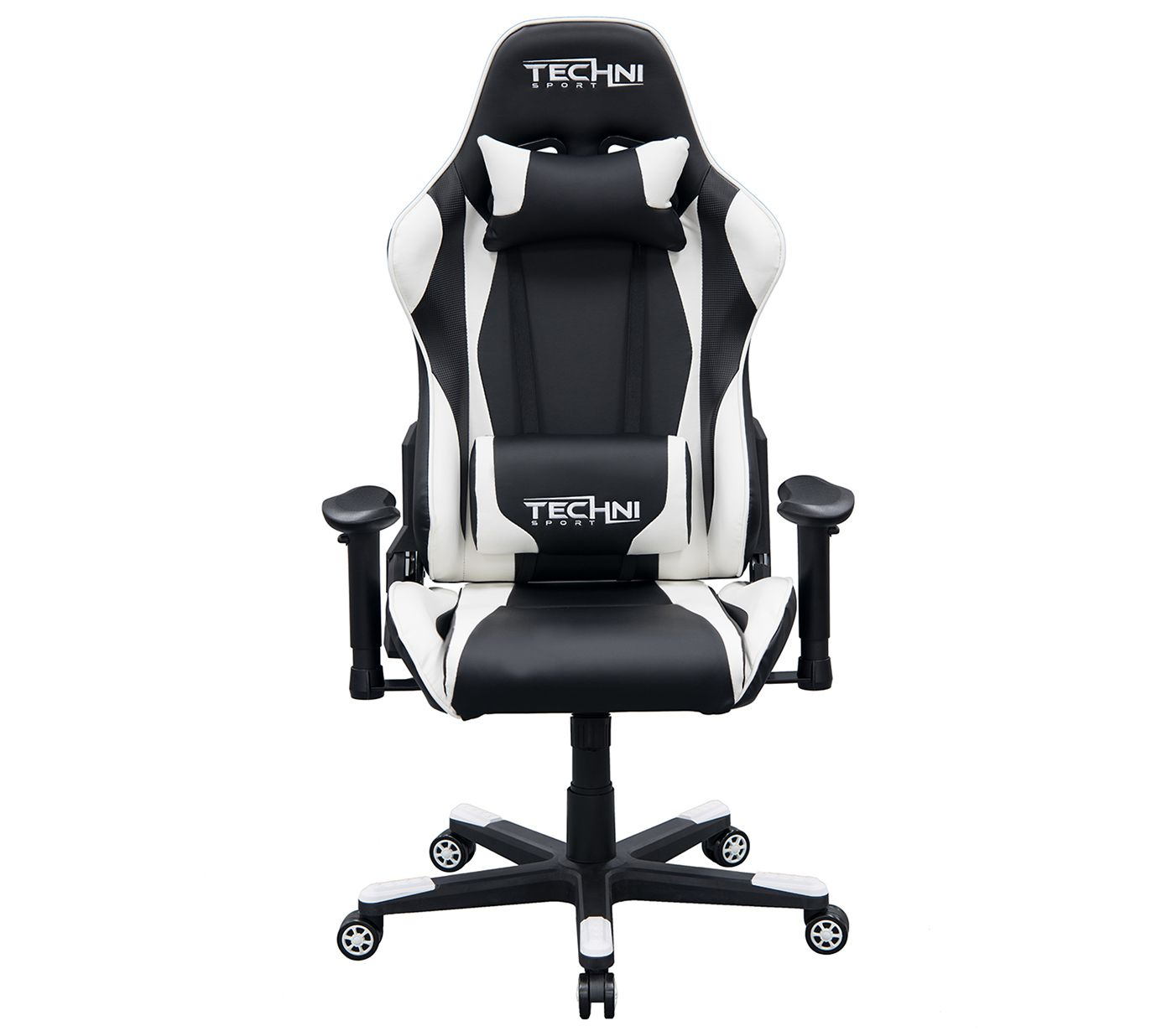 Techni Sport Ultimate Recline White Computer And Gaming