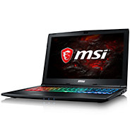 MSI 15.6 Gaming Laptop - i7, 16GB RAM, 256GB SSD, GTX 1060 - E292590