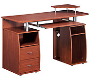 Techni Mobili Complete Computer Workstation Desk - E267591