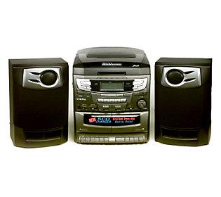 audiovox am fm 5 cd changer stereo system w dual cassette. Black Bedroom Furniture Sets. Home Design Ideas