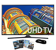 Samsung 50 Smart LED 4K Ultra HDTV with HDMI Cable & App Pac - E288991