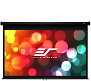 Elite Screens 100 Manual B Series Projection Screen - E293591