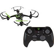 Sky Viper 720P HD Drone Auto Hover 4GB SD, Charger Duraflex Body - E229392