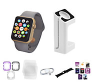 Apple Watch Series 1 38MM with Bumper Case & Screen Protector - E230492