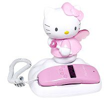 Hello Kitty Caller ID and Memory Telephone