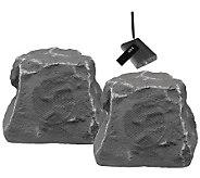 TIC 5.25 Wireless Outdoor Rock Speakers - Gray - E260792