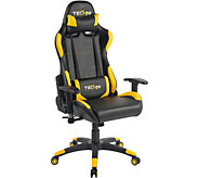 Techni Sport Maximum Recline Yellow Computer and Gaming Chair - E291092