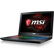 MSI 15.6 Gaming Laptop - i7, 16GB RAM, 128GB SSD, NVIDIA - E292592