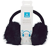 Music Muffs Fashionable Wired Plush Earmuffs - E227993