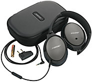 Bose QC 25 Noise Cancelling Headphones for Samsung - E228093