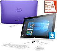 HP 22 Touch All-in-One PC 8GB RAM 1TB HDD Lifetime Tech & MS Office 365 - E229293