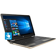 HP 15 Pavilion Touch Laptop AMD A9, 6GB RAM 1TB HD, DVD-RW & Lifetime Tech - E229993