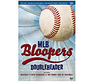 MLB Bloopers Doubleheader DVD - E263793