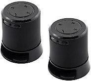 Set of 2 Craig Portable Bluetooth Speakers - E279593
