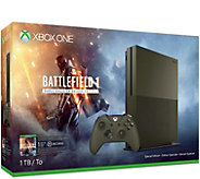 Xbox One S 1TB Console - Battlefield 1 SpecialEdition Bundle - E290593