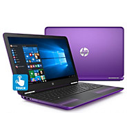 HP Pavilion 15 Touch Laptop AMD A9, 6GB RAM 1TB HD, DVD-RW - E230794