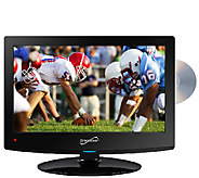 SuperSonic 15.6 LED HDTV with Built-in DVD Player - E257994