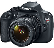 Canon EOS Rebel T5 18MP DSLR Camera with Full HD Video - E276994