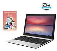 ASUS 11.6 Chromebook - Quad-Core, 4GB, 16GB eMMC & Software - E287794