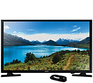 Samsung 32 LED 720p HDTV and 6 HDMI Cable - E292994