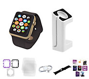 Apple Watch Series 1 42MM with Bumper Case & Screen Protector - E230495