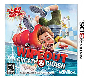 WipeOut: Create & Crash - Nintendo 3DS - E273995