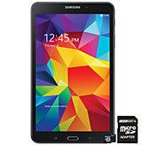 Samsung 8GB 7 Galaxy Tab 4 with 8GB microSD Card & Adapter - E282295