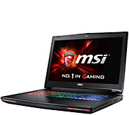 MSI GT72 17 Gaming Laptop- i7, 16GB RAM, GTX 970M, Software - E288595