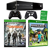 Xbox One 1TB The Division Bundle with Minecraft - E288795
