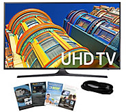 Samsung 55 Smart LED 4K Ultra HDTV with HDMI Cable & App Pac - E288995