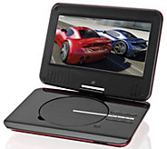 GPX 9 Portable DVD Player with Foldable SwivelDisplay - E289295