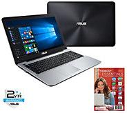 ASUS 15.6 Laptop - AMD A8 Quad Core, 8GB RAM,1TB HDD - E289395