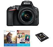 Nikon D5600 24.2MP DSLR Camera with 18-55mm Lens - E290695
