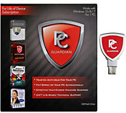 PC Guardian All-in-One Lifetime PC Antivirus, Tech & Tune up - E228296