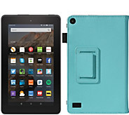 Amazon Fire 7 8GB Wi-Fi Tablet w/ Colored Case & Software - E229496