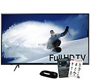 Samsung 43 1080p Smart HDTV with Apps & HDMICable - E292996