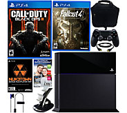 PlayStation 4 500GB Black Ops 3 Bundle with Fallout 4 & Accessories - E229197