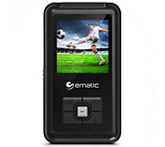 Ematic 8GB MP3 Video Player with FM Tuner &1.5 Screen - E287597