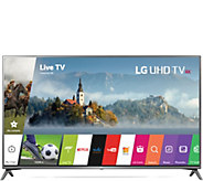 LG 75 4K Smart LED Ultra HDTV with HDR - E290897