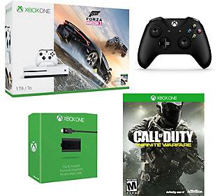 Xbox One S 1TB Bundle w/ FH3 & COD InfiniteWarfare