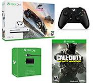 Xbox One S 1TB Bundle w/ FH3 & COD Infinite Warfare - E292197