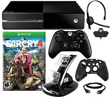 Xbox One Console w/ Far Cry 4 and Accessories