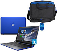 HP 17 Pavilion Touch Laptop AMD A10, 8GB, 1TB, Bag, Mouse & LifeTime Tech - E229998