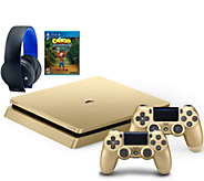 Sony PS4 Slim Limited Edition 1TB Console w/ ExtraController Game & Headset - E231198